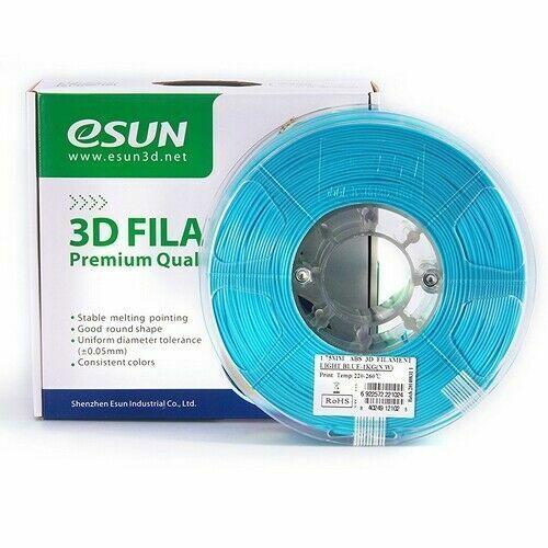 Filament pour 3D Hips Esun 3.00 mm bleu clair 1 kg