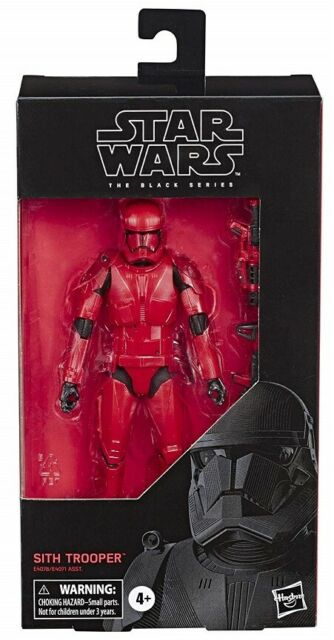 "Star Wars Sith Trooper Rise of Skywalker Black Series 6"" Action Figure IN STOCK"