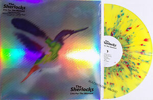 THE-SHERLOCKS-LP-Live-For-The-Moment-SPLATTER-VINYL-Limited-Edition-Mp3s-SEALED
