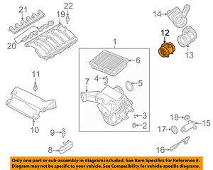 BMW-OEM-04-06-325Ci-Mass-Air-Flow-Sensor-13627566984