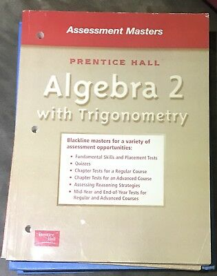 Algebra 2 Placement Test