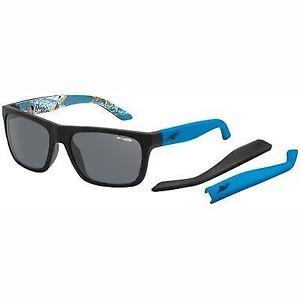 1709a9340ba Arnette 4176 2227 87 222787 Dropout Fuzzy Matte Black Sunglasses for ...