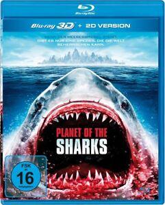 PLANET OF THE SHARKS UNCUT (STEPHANIE BERAN,...) 3D BLU-RAY NEW