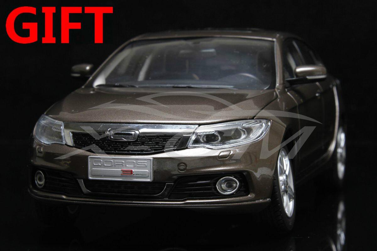 voiture Modell Chery QGolds 3 Hatch 1 18 (braun) + SMALL Geschenk