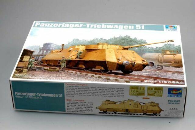 Trumpeter 01516-1:35 Panzerjager-Triebwagen 51 Neu