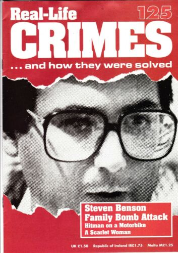 Various Issues of REAL-LIFE CRIMES Magazine from #1 to #135 circa 1993