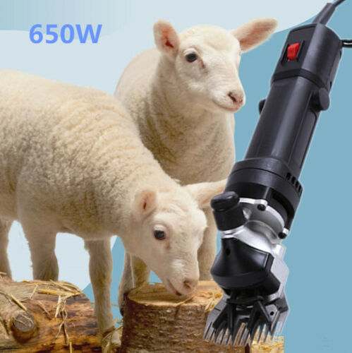 650W EU Elektrische Schafschermaschine Schafe Schermaschine Scheren Shears SET