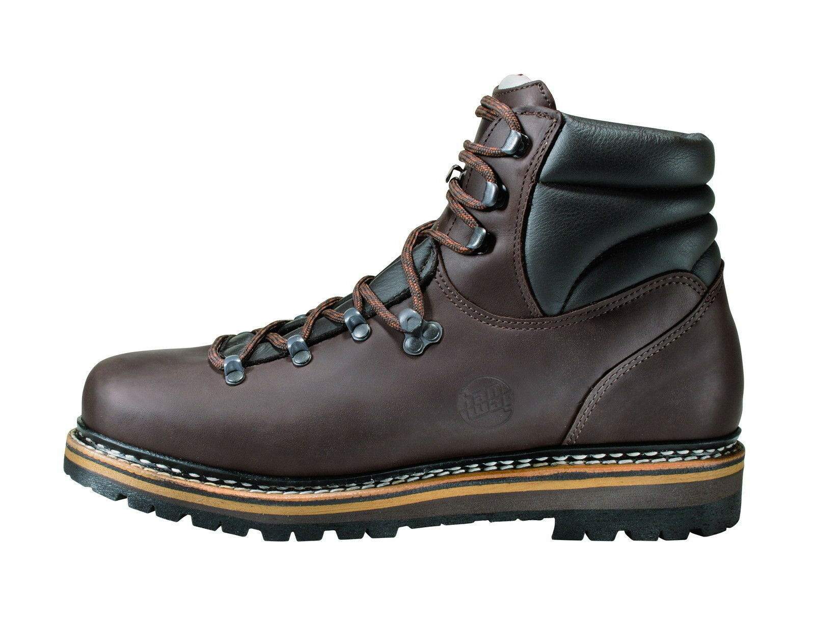Hanwag Double-Stitched Classic Green Men Size 8,5 - 42,5 Maroon