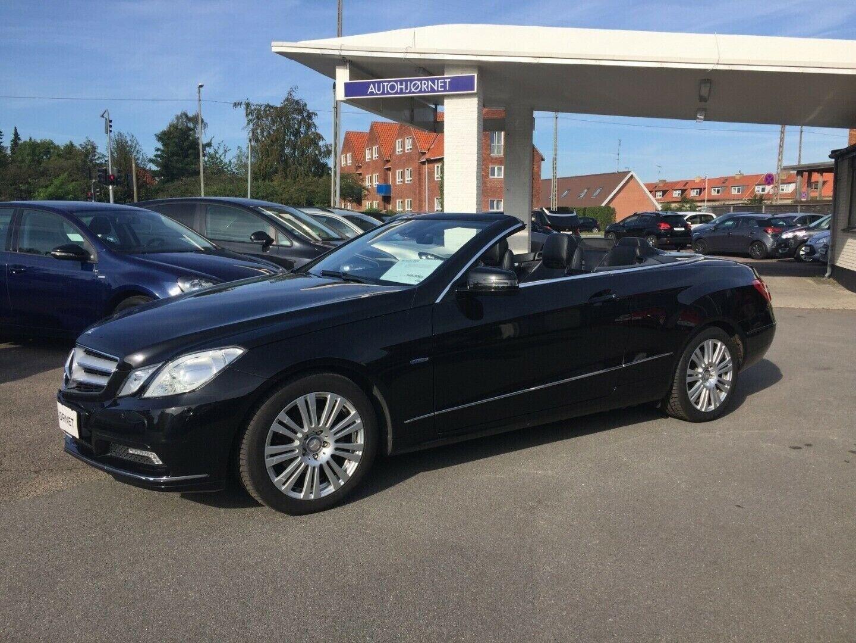 Mercedes E200 1,8 CGi Cabriolet aut. BE 2d - 329.900 kr.