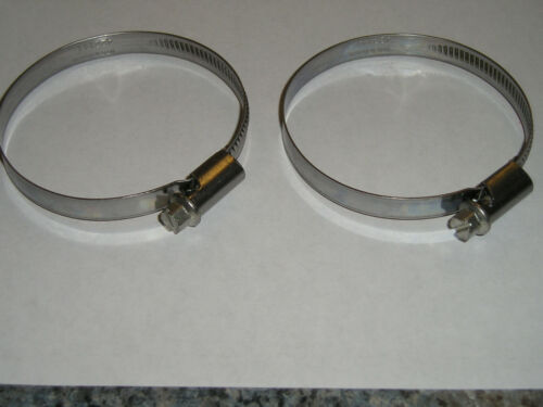 60mm 40mm new Maico fork boots clamps 1967-1986
