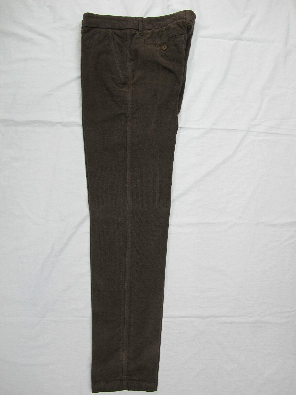 HARMONT&BLAINE pantaloni uomo velluto mod.W3016 col.MarroneeE tg.52 inverno 2013