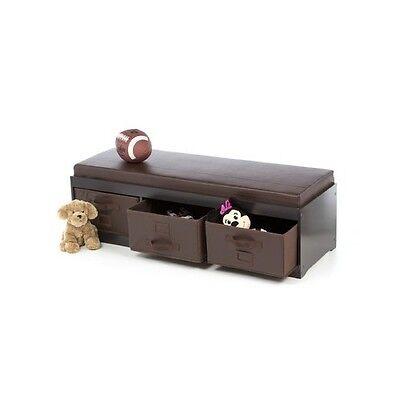 Remarkable Kids Storage Bench Espresso Toy Box Bedroom Furniture Playroom Bin Seat Basket 764966691343 Ebay Download Free Architecture Designs Grimeyleaguecom