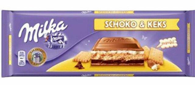 Milka Chocolate Oreo Big Bar 300g Christmas 2019