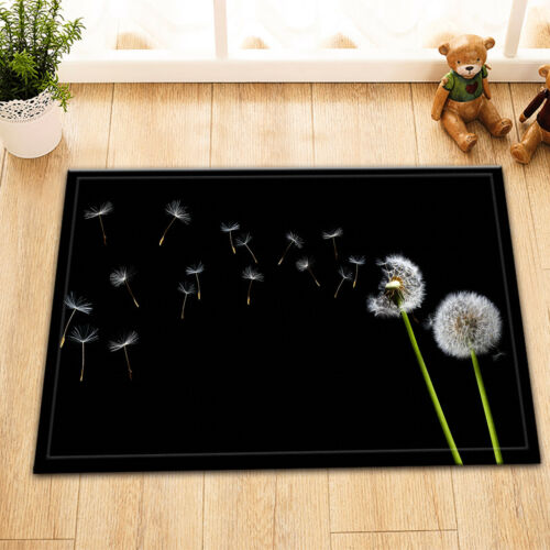 A Dandelion Blowing Shower Curtain Liner Polyester Fabric Bath Accessory Sets