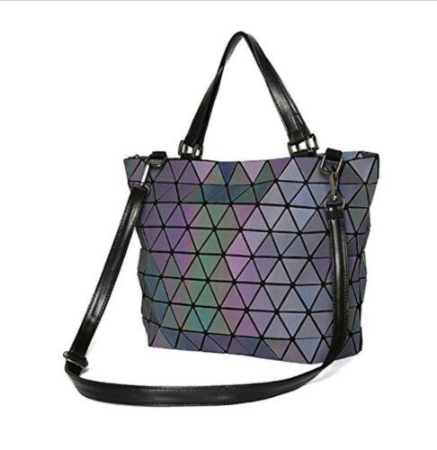 FL Coolives Geometric Prism Fashion Womens Tote Bag Handbag