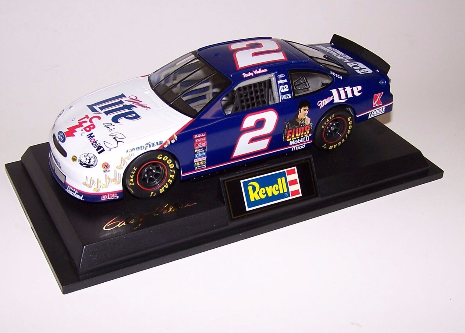 Rusty Wallace 1998 Ford Taurus Miller Lite 1 24 Revell Action 1 of 5,004