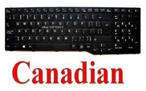 Fujitsu-Lifebook-A-544-A544-AH544-Keyboard-CA-Canadian