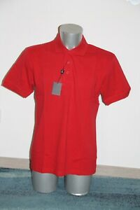 joli polo manches courtes rouge TORRENTE homme taille M neuf