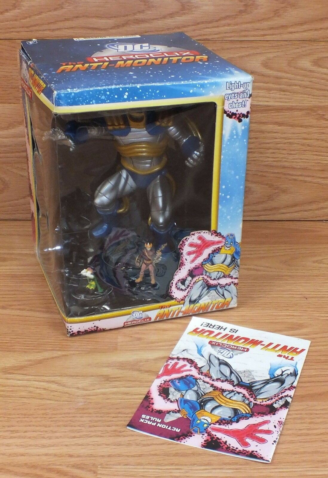 Genuine Heroclix DC The Anti Monitor Action Figure Game Piece With Box READ