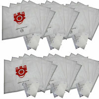30 Bags For Miele Fjm Synthetic Vacuum Cleaner Bag + Filters Dvc