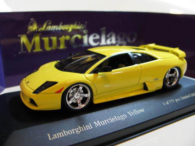 1 43 Lamborghini Murcielago (2003) jaune diecast special by Zi-l