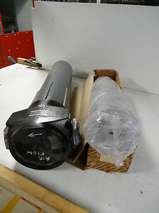 ATLAS COPCO, IN-LINE INDUSTRIAL FILTER CASE WITH NEW FILTER ELEMENT