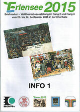 "Ausstellungsinfo ""Erlensee 2015"""