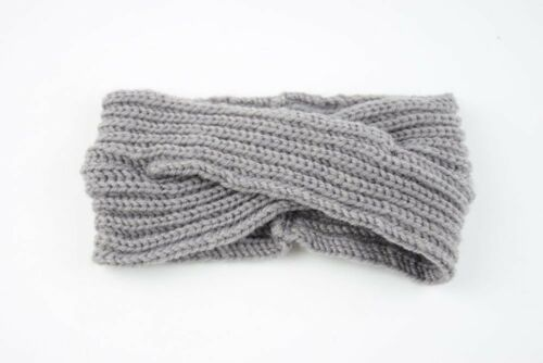 Women/'s Winter Knitted Headband Chunky Crochet Ear Warmer