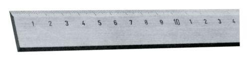 Helios Preisser Stahllineal 500 x 40 x 5mm Horex 455428