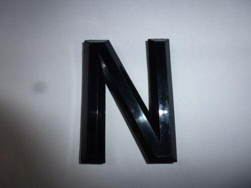 CLASSIC CAR NUMBER PLATE soulevées en Plastique 3D Lettres /& Numéro chiffres N