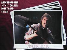 "RARE 14""x11"" ULTRA GLOSSY US LOBBY CARDS x8 - ARACHNOPHOBIA - JEFF DANIELS"