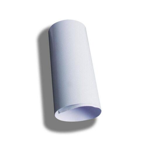 "54/""x20/"" White Perforated One Way Vision Print Media Vinyl Window Film"