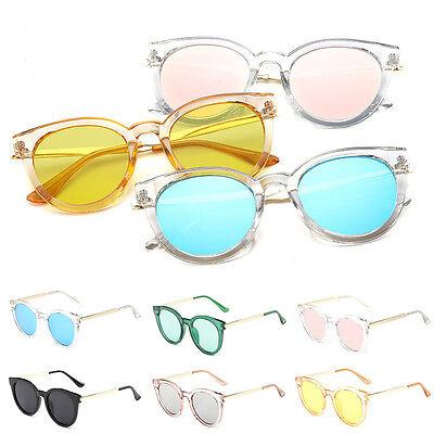 Women's Retro Cat Eye Sunglasses Classic Oversize Vintage Fashion Shades Eyewear