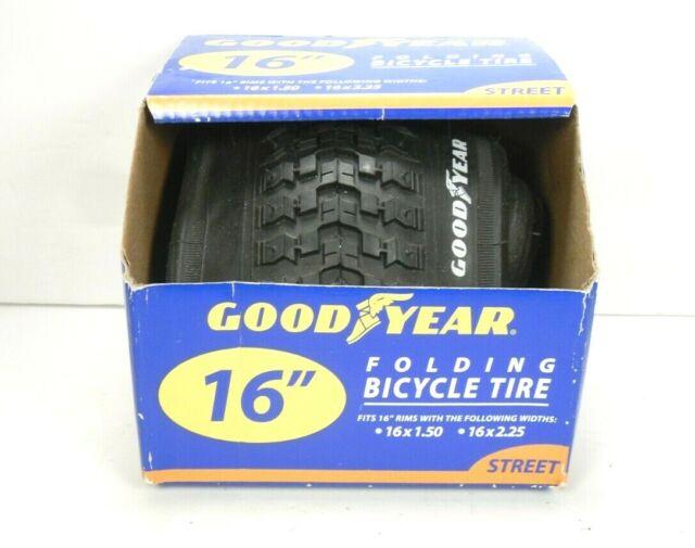 """16/"""" x 1.95/"""" Bike Tire BMX Kids Street Tread Fits All 16 inch Bicycles NEW"""