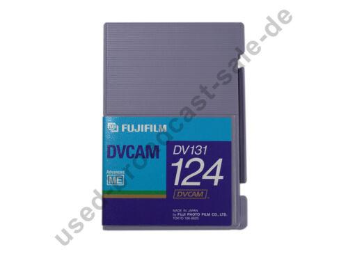 Fujifilm dv131 124-casete DVCAM nuevo