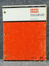 Factory Case 26 Amp 26b Front Loader For 480 Amp 480b Tractors Parts Catalog Manual