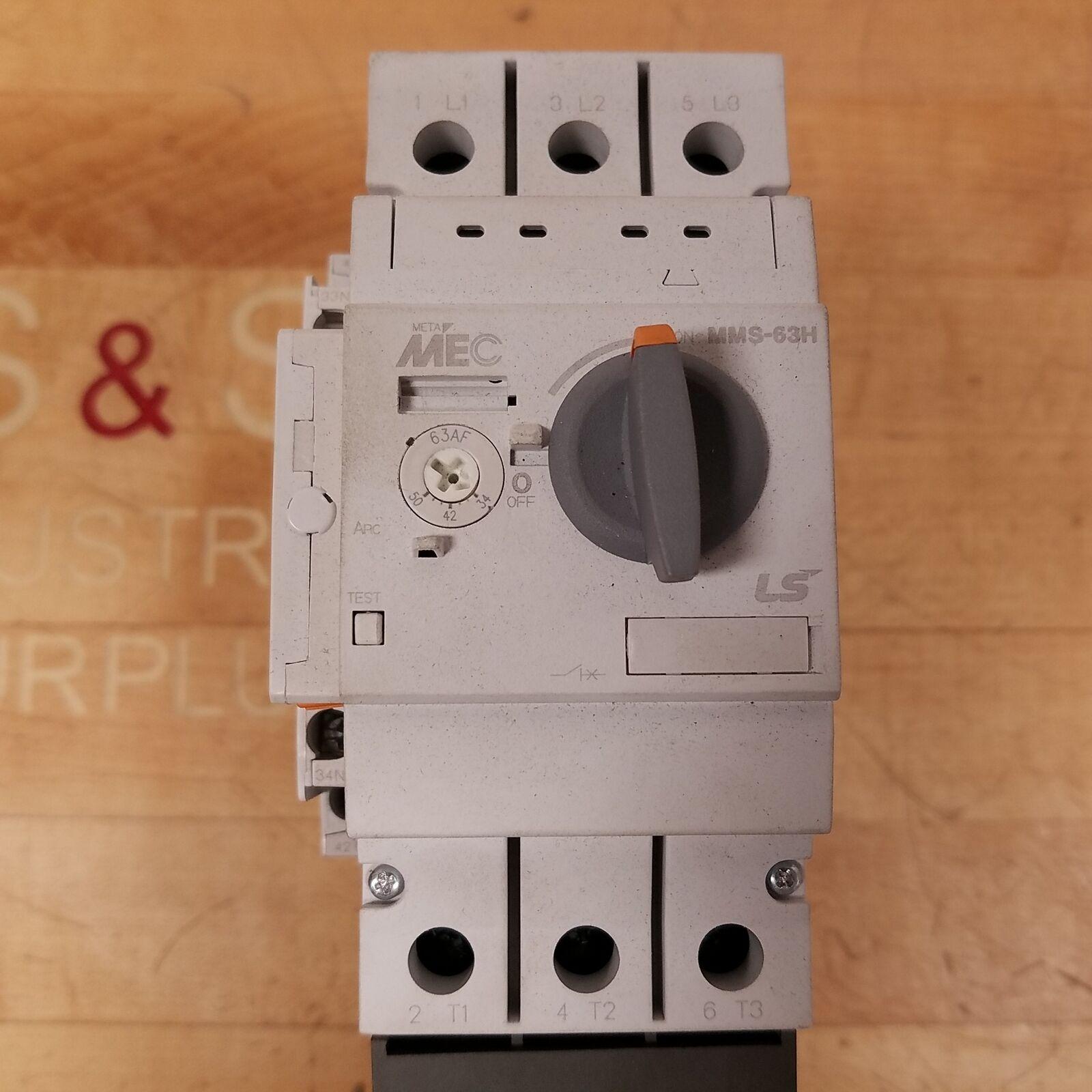 NIB MEC MMS-32H MMS-32H-8A enclosed manual motor starter 5-8A EPH32-65S