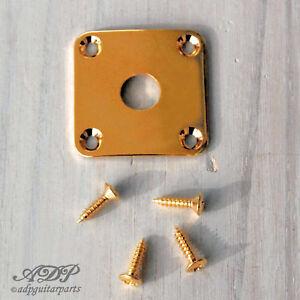Plaque Input Gotoh Jack Plate for Les Paul LP type Gibson Epiphone Gold JLP0G