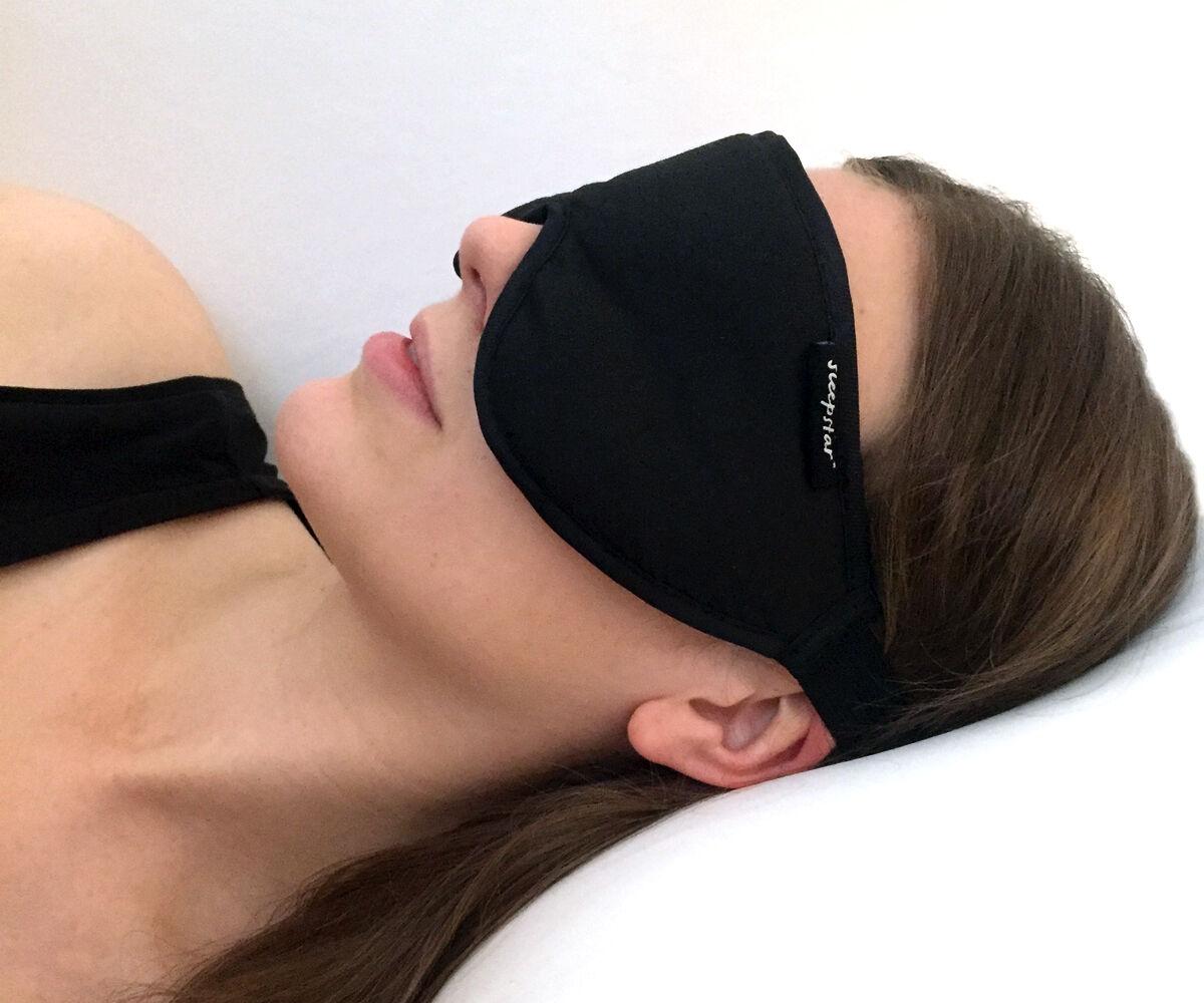 Voyage sommeil masque. Noir Masque Yeux par sleepstar. Voyage Masque. Masque. Masque. Beau cadeau. c2d144