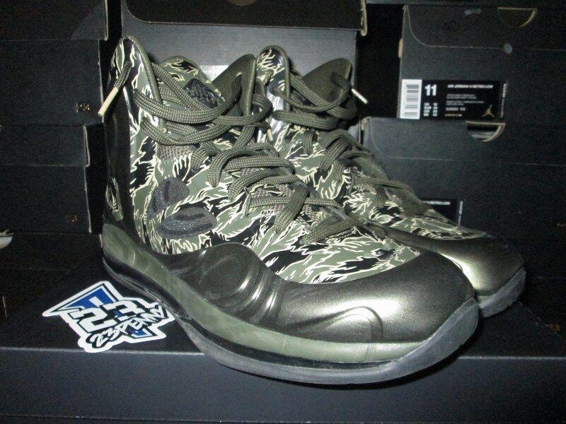 Nike Air Max hyperposite Tiger Negro Camo talla 1cargo Khaki Negro Tiger 52486300 b72957