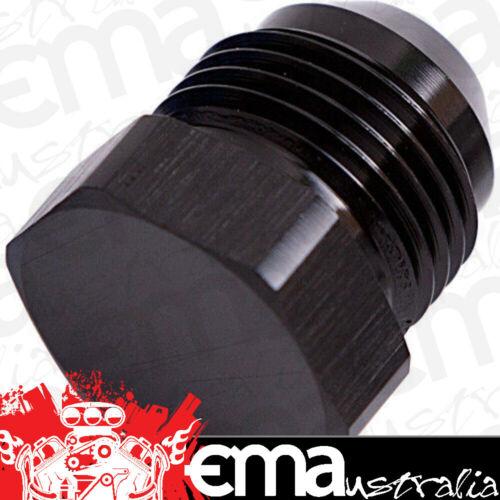 10AN Black Male Flare Plug Aeroflow AF806-10BLK Flare Plug Male 10An