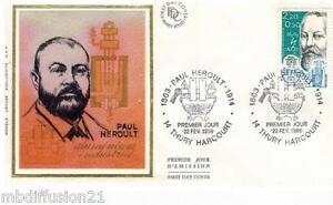 1986-ENVELOPPE-FDC-SOIE-1-JOUR-PAUL-HEROULT-CHIMISTE-TIMBRE-Y-T-2400