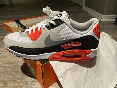 NIKE GOLF SHOES - AIR MAX 90 G - INFRARED NRG 2021 Size 12US In ...