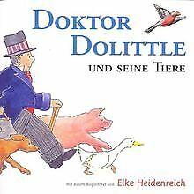 Doktor-Dolittle-und-seine-Tiere-3-CDs-von-Hugh-Lofting-Buch-Zustand-gut