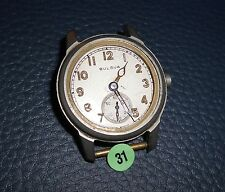 31)⌚ BULOVA 40er Vintage Military Watch WW II WK 2 US Army Parts Case Mouvement