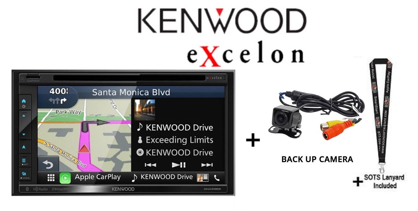 FOR KENWOOD DNX692 DNX692HD HI QUALITY IR MINI NIGHT VISION BACK UP CAMERA //