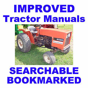 Allis-Chalmers-AC-5020-amp-5030-Tractors-SERVICE-REPAIR-MAINTENANCE-MANUAL-on-CD