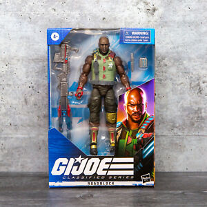 "ROADBLOCK Hasbro GI JOE CLASSIFIED Wave 1 2020 6/"" inch ACTION FIGURE in stock"