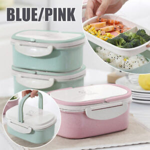 Portable-Lunch-Box-Wheat-Straw-Picnic-Microwave-Bento-Food-Storage-Container