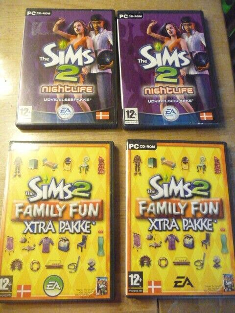 Sims 2 spil, til pc, anden genre